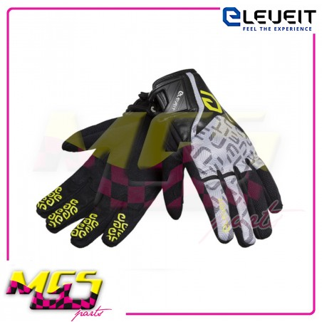 GUANTI ESTIVI ELEVEIT RT1 BLACK/YELLOW