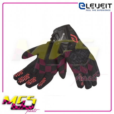 GUANTI ESTIVI ELEVEIT RT1 BLACK/RED