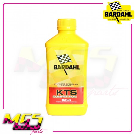 LUBRIFICANTE / OLIO MOTO SINTETICO BARDAHL 2T KTS COMPETITION + OCTANE BOOSTER