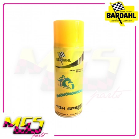 GRASSO SPRAY CATENA BARDAHL HIGH SPEED CHAIN - 400 ML